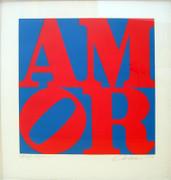 Stunning Robert Indiana, Amor, 1984