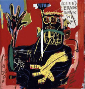 Great Jean Michel Basquiat, Untitled (Ernok), 1982/2001