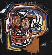Exciting Jean Michel Basquiat, Untitled Skull Head, 1983/2001