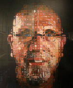Fabulous Chuck Close, Self-Portrait Screenprint 2011