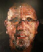 Fabulous Chuck Close, Self-Portrait Screenprint 2011