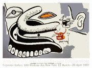 Extraordinary Basquiat F..k You Denturess