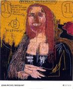 Dynamic Basquiat Mona Lisa