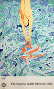 Great David Hockney Munich Olympics