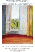 Beautiful David Hockney Window, Grand Hotel, Vittel