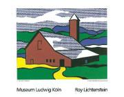 Splendid Lichtenstein Red Barn II Lg