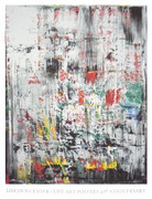 Dynamic Gerhard Richter Eis 2 Limited Edition Exhibition Art Print