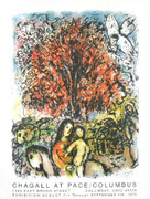 Rare Chagall Sainte Famille