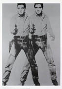 FAB! Warhol Double Elvis