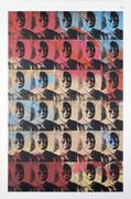 Rare Warhol Thirty Small Colored Maos (Reversal Series)