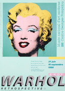 Dynamic Warhol Marilyn (Green)