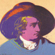 Rare Warhol Goethe Red and blacklarge