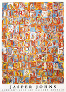 Striking Jasper Johns Numbers in Color