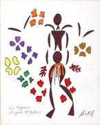 Matisse La Negresse SIGNED