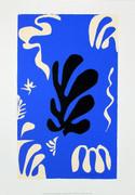 Matisse Composition Fond Bleu