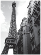 Anon The Eiffel Tower Approaching the Eiffel Tower Art Print