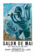 Pablo Picasso Salon de Mai Limited Edition Art Print