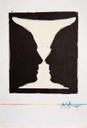 Jasper Johns Picasso as Cup Cup 2 Picasso, 1973 Lithograph Art Print