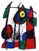 Joan Miro Original Lithograph VII Art Print