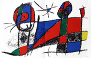 Joan Miro Original Lithograph V Art Print