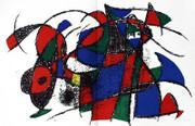 Joan Miro Original Lithograph IV Art Print
