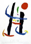 Joan Miro Untitled I (Library of Congress) Art Print