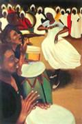 Bernard Hoyes Roots & Rhythm Signed ed. 999 Limited Edition Art Print