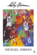 LeRoy Neiman Michael Jordan  Art Print