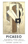 Pablo Picasso Papiers Colles Galerie Lucie Weill