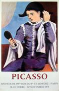 Pablo Picasso Arlequin au Miroir