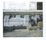 Christo Wrapped Reichstag, Project for Berlin 2