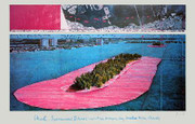 Christo Surrounded Islands, Miami SIGNED