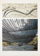 Christo Over the River, Project for the Arkansas River SIGNED