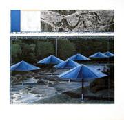 Christo The Blue Umbrellas, 1991