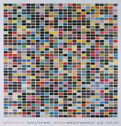Exciting Gerhard Richter Richter 1025 Colors (1025 Farben) Exhibition Art