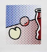 Exciting Still Life with Red Jar, Ltd Ed Silk-screen, Roy Lichtenstein