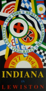 Great Indiana in Lewiston, Ltd Ed Silk-screen, Robert Indiana, Large - Signed!