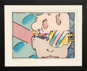 Splendid Zero Horizontal Lithograph, Peter Max - Signed