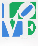 Dynamic Robert Indiana, The Book of Love 8, 1996