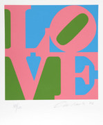 Stunning Robert Indiana, The Book of Love 11, 1996