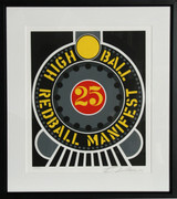 Great Robert Indiana, The American Dream: High Ball Redball Manifest, 1997
