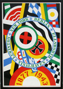 Dynamic Robert Indiana, The Hartley Elegies: The Berlin Series- KvF IV, 1990