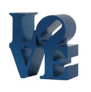 Great Robert Indiana, Miniature Love Sculpture Blue, Circa 2000
