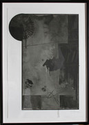 Great Jasper Johns - Evian Black State, 1972 - Lithograph - Signed