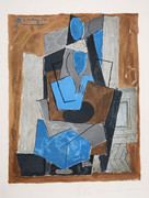Pablo Picasso Estate Collection Femme Assise Hand Signed with COA