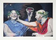 Pablo Picasso Estate Collection Photo Rehasse de Picasso et Manuel Pallar Hand Signed with COA