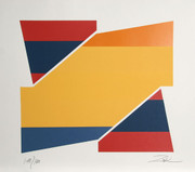 Fabulous Rotation II Serigraph, Larry Zox - Signed