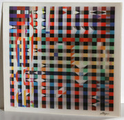 Beautiful Yucatan Magic Agamograph,Yaacov Agam - Signed