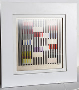 Great Multiple Space Agamograph,Yaacov Agam - Signed