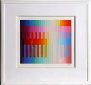 Magic Rainbow II (Small) Serigraph,Yaacov Agam - Signed